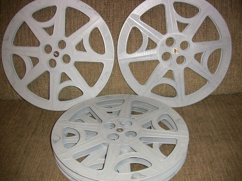 FOUR- 2000ft  16mm Plastic reels - NEW -