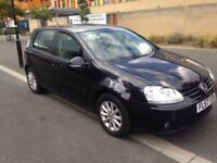 VOLKSWAGEN GOLF MATCH 1.9 TDI 2007. BALCK 1 FORMER KEEPER. MOT JUNE 2017 2 FULL SERVICE HISTORY