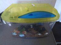 18 x 10 x 8 inch tropical tank/aquarium/ fish tank/pets