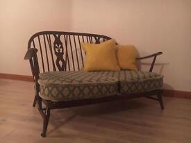 Ercol - 2 seater - Fleur De Lys sofa