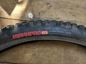 Maxis Pro 60A Mountain Bike Tyre 26 x 2.35 with inner tube