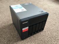 QNAP TS-563 NAS 15TB (5x3TB) Storage 8GB RAM As New Condition