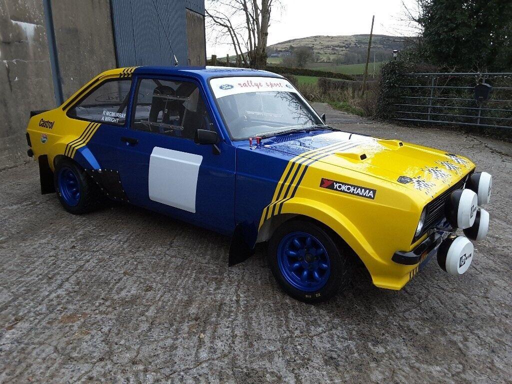 Ford Escort Mk2 Grp 4 Rally Car: In Castlewellan, County Down