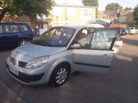 1.6 RENAULT SCENIC 2004 YEAR AUTOMATIC 79000 MILE HISTORY MOT 07/JULY/18 HPI CLEAR 3 MONTHS WARRANTY