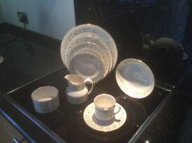 Royal Doulton fine china dinner / tea service