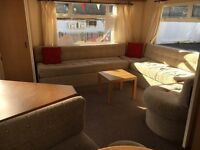 Lovely 2 bedrorom static caravan sited on st osyth holiday park essex near clacton-next to beach