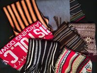 Collection of scarves