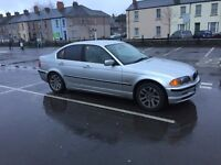Quick to drive BMW 323 E46 model in silver 2000 reg good condition px welcome