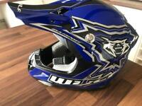 Motorcycle helmet child's