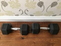 New condition fitness weights. 20 kg.