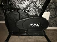 JLL 2 in 1 cross trainer exercise bike in great condition