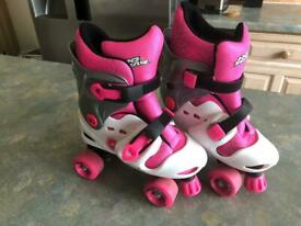 GIrls NO FEAR Roller Skates - Size 1 to 4
