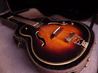 Vintage EY80SB Semi/Electro Acoustic Guitar - Made in Korea approx 1999/2000
