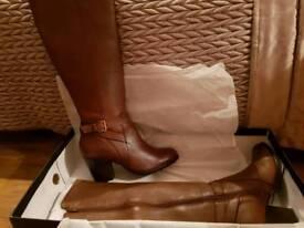 Tan knee highs - never worn