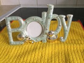 BABY BOY PHOTO FRAME - PLEASE SEE PICS