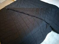 Laura Ashley King size black beaded throw