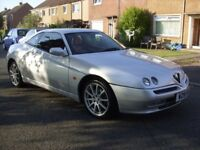 ALFA ROMEO GTV TWIN SPARK WITH FACTORY ORDER RED INTERIOR