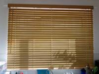 oak Venetian blinds 50mm/wood