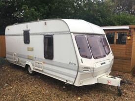 Lunar Chiron 2 berth end bithroom with full awning 1995