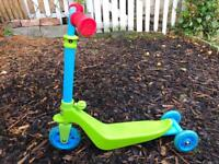Toddlers Balance bike/scooter