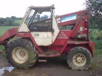 MANITOU TELESPOCIC NEEDS ENGINE REPAIRS IDEAL FOR REPAIR OR EXPORT