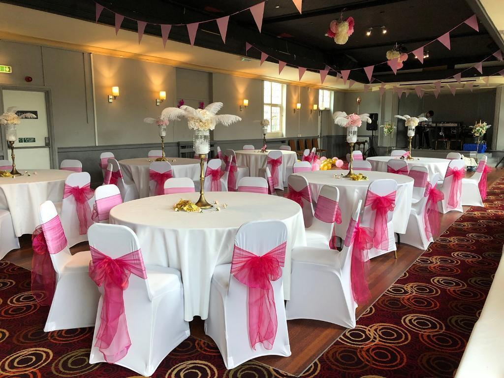 We specialise in table chair cover hire for weddings banqueting dinner plates glasses in hall green west midlands gumtree