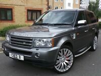 Land Rover Range Rover Sport 2.7 TD V6 HSE 5dr£13,999 p/x welcome 12 MONTHS WARRANTY INCLUDED