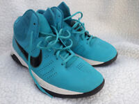 Nike Air Visi Pro VI Basketball shoes, trainers, size UK 8, blue turquoise, excellent condition