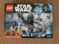 Lego 75183 Star Wars Darth Vader Transformation - Brand New