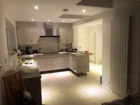 Kitchen fitters, interior, flooring, carpentry