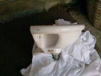 Vitro hand basin 38cm across (swindon)
