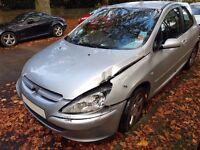 2003 Peugeot 307 HDI Spares or Repairs