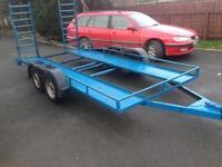 13x6 car transporter trailer