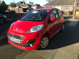 Peugeot 107 1.0 active. Very low mileage Lady owner
