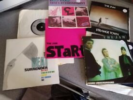 LOADS 45'S - the who, Jam, Guns n Roses, David Bowie - ref list below