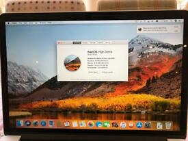 "MacBook Pro late 2013 Retina 15.4"" 16gb RAM 512gb SSD"