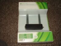 XBOX 360 WIRELESS NETWORKING ADAPTER NEW BOXED
