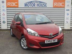 Toyota Yaris VVT-I TR (SAT NAV) FREE MOT'S AS LONG AS YOU OWN THE CAR!!! (red) 2012