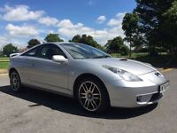 TOYOTA CELICA VVTI 6 SPEED WITH MARCH 2017 MOT
