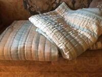 Laura Ashley double bed throws