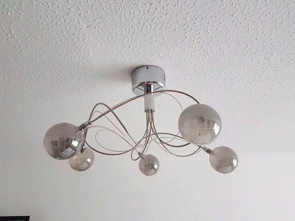 lighting next. Next Lana 5 Light Smoked Glass Chrome Ceiling Lighting T