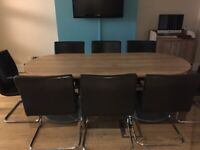 Used office furniture for sale at competitive prices - chairs, desks, cupboards, computers...