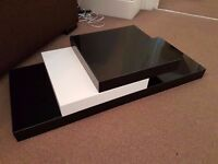 Three floating shelves - very good condition