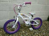 Girls bike 3 - 5 yrs