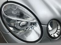 05 MERCEDES E CLASS XENON HEADLIGHT ONLY USED 2 MONTS NEW PAIR £350