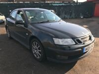 Saab 9-3 ARC 175 BHP 1990cc Petrol Turbo 5 Speed manual 4 door saloon 54 plate 21/09/2004 Green