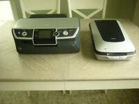 Epson Stylus Photo R360 Printer & Epson Perfection 4490 Photo Scanner