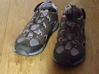 Lands end ladies hiking sandals size 6