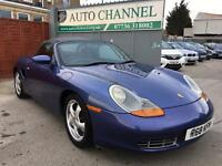 Porsche Boxster 2.5 986 Convertible 2dr£4,695 p/x welcome FREE WARRANTY. NEW MOT