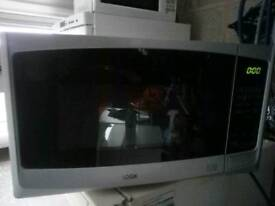 Logik silver microwave